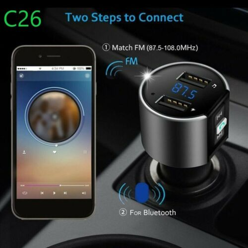 Handsfree Wireless Bluetooth Car Kit FM Transmitter Radio MP3 Player USB Charger <br/> Fast Ship From Melbourne◆12 Month Warranty◆Top Quality