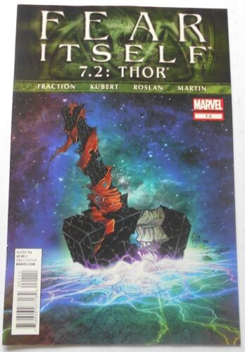 2012 Fear Itself Thor #7.2 Excellent Condition (MARVEL)