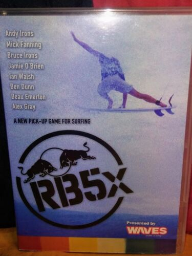 RB5x: Red Bull 5x Surfing (DVD & Booklet, 2005) Andy Irons Mick Fanning