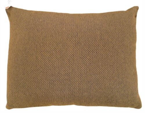 """Vintage Decorative Brown Fabric Pillow, Double-Sided, size 20"""" x 16""""!"""
