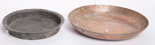 Lot of 3 Middle Eastern Copper Bronze Bowls.