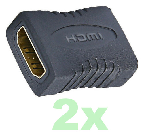 HDMI Extender Female To Female Coupler Joiner Adapter Cable Extension. 0147