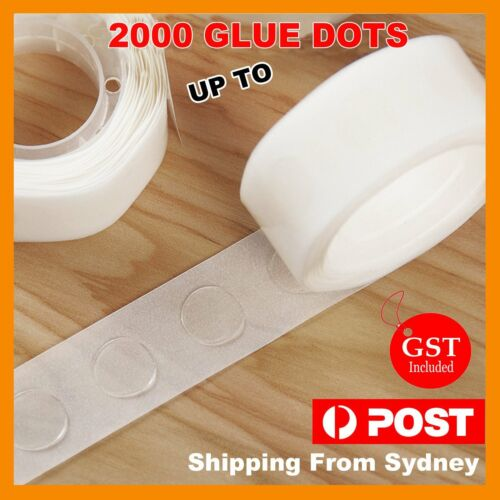 Up 2000x Balloon Glue Dots Photo Adhesive Bostik Party Double tape Scrapbooking