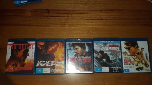 Mission Impossible Collection (Blu-ray, 2015, 5-Disc Set)