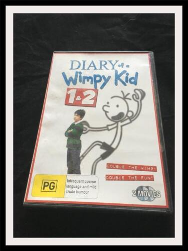 DIARY OF A WIMPY KID 1 AND 2  DVD - GOOD CONDITION