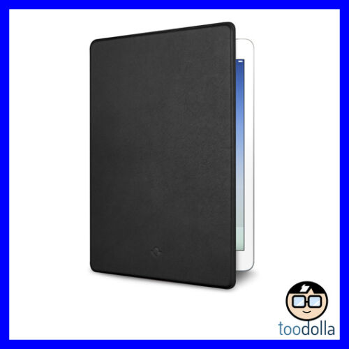 TWELVE SOUTH SurfacePad Ultra Slim Leather Cover, iPad Air/9.7 (2018/2017) Black