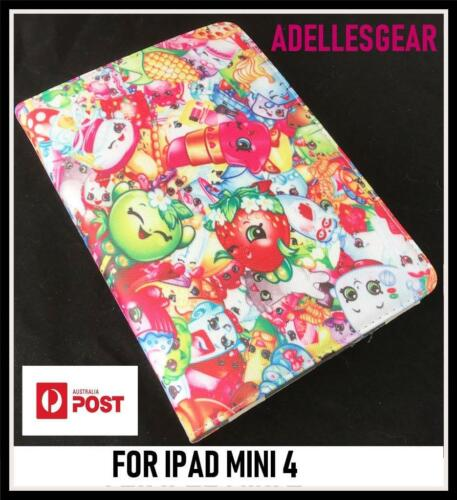 FOR APPLE IPAD MINI 4 - SHOPKINS PINK  DESIGN