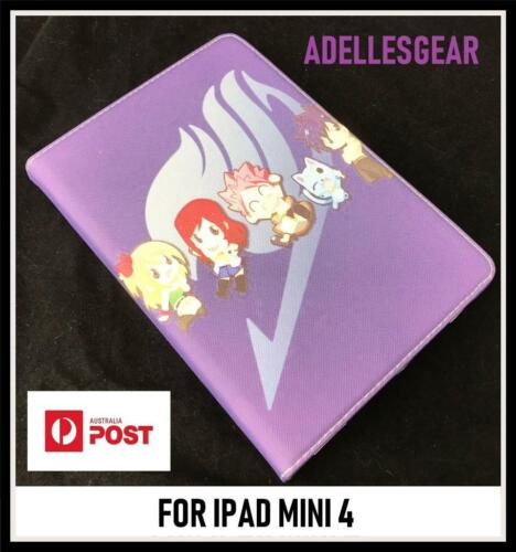 FAIRY TAIL  IPAD MINI 4 -  FAIRY TAIL MANGA PURPLE DESIGN