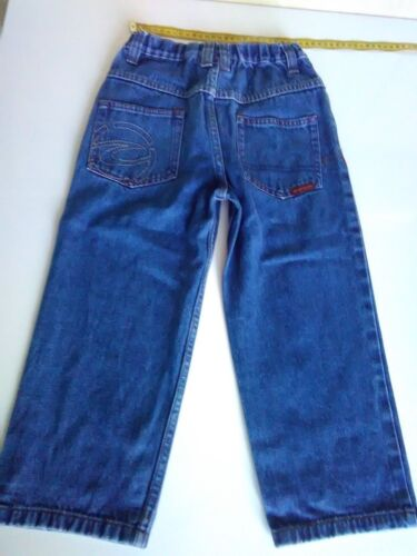 Childs Ripcurl Jeans, Size 4, Stretch Waist, Blue, 100% Cotton