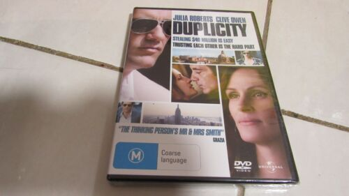 Duplicity (DVD, 2009) Brand NEW in Plastic, FREE Registered Post !!