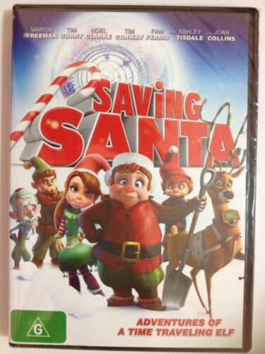Saving Santa - Adventures of a Time Travelling Elf - DVD - BRAND NEW AND SEALED