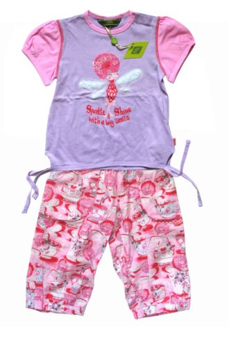 Oilily ✿ NWT ✿ Girls Pink Fairy Queenie Top & Pants 98  ✿ RARE Designer