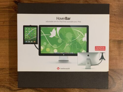 Twelve South HoverBar V2 for iPad | Flexible arm for iPad 2nd, 3rd, and 4th Gen