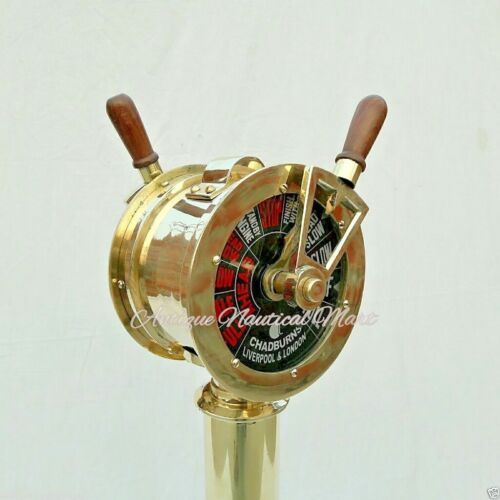 Telegraph Antique Engine Order Nautical Maritime Home Decorative Collections