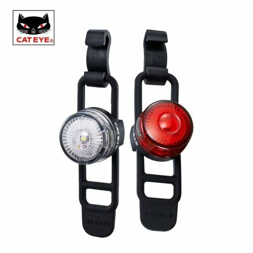 CatEye Loop 2 USB Rechargeable Front & Rear Light Set LD140RC