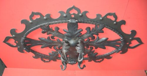 Chandelier Lighting Ceiling Canopy, 4 hooks, Wrought Iron,  made by Blacksmith