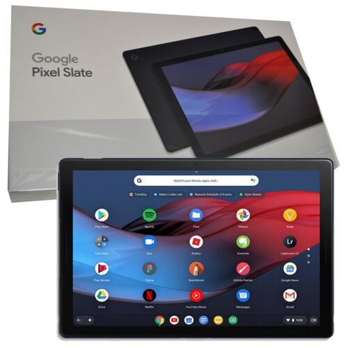 "New 12.3"" Google Pixel Slate Blue 128GB eMMC/8GB RAM/ Intel Core i5 Wi-Fi Tablet"