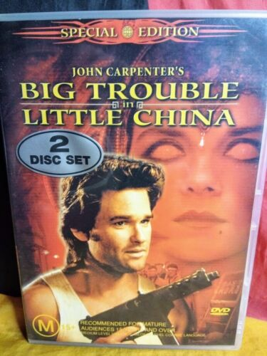 Big Trouble In Little China (DVD, 2003, 2-Disc Set)