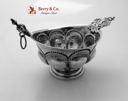 Punch Cup Sweden 1780 Jacob Lampa 830 Standard Silver