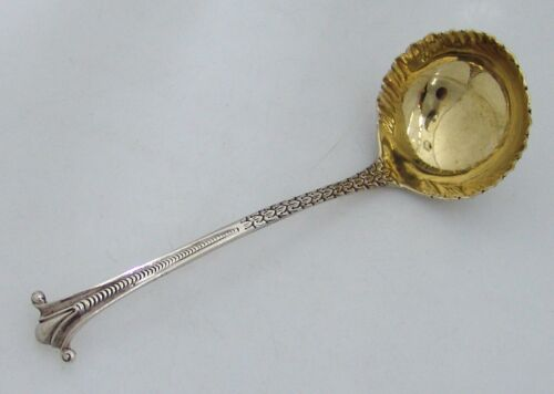 Onslow Sterling Silver Gravy Ladle London 1762