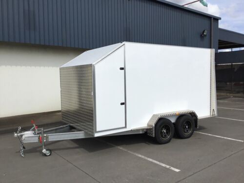 Enclosed trailer , cargo trailer , waterproof