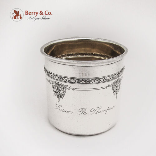 Baby Christening Cup Louis XIV Sterling Silver Towle 1924