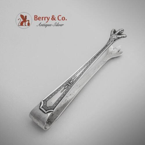 Colfax Bon Bon Tongs Sterling Silver Durgin 1922