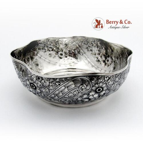 St Cloud Bowl Aesthetic Gorham Sterling Silver 1892