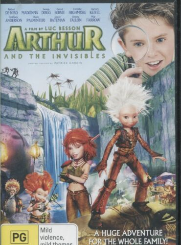 Arthur And The Invisibles (DVD, 2016)    Freddie Highmore, Mia Farrow, Madonna