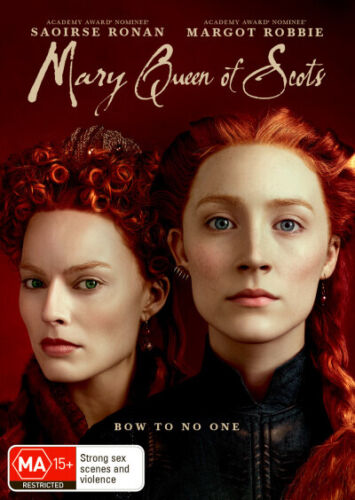 Mary Queen of Scots (2018)  - DVD - NEW Region 4, 2