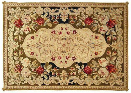 Antique Portuguese Needlepoint Flatweave Rug, in Small Size, with FREE SHIPPING!