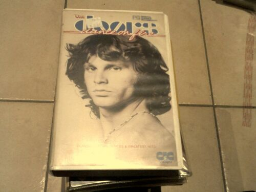 THE DOORS - DANCE ON FIRE  * MUSIC VHS MOVIE TAPE VIDEO PAL