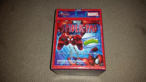 Spider-Pad Spiderman Controller for Sony Playstation 2 PS2 Console, New Unused