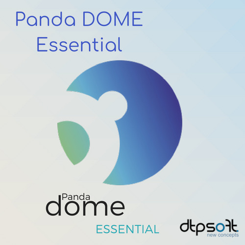 Panda Dome Essential 2021 5 DEVICES 1 YEAR AU