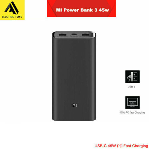 New Xiaomi' Power Bank 3 Pro 20000mAh 2-Way USB-C 45W PD QC3.0 Fast Charge <br/> Genuine Mi & Authentication sticker, local AU post