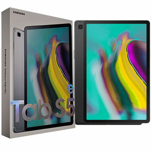 New Samsung Galaxy Tab S5e 2019 Black 128GB SM-T725N Factory Unlocked 4G+WFi OEM