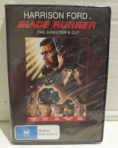 Blade Runner The Director's Cut DVD Harrison Ford Brand New in Plastic Wrappin