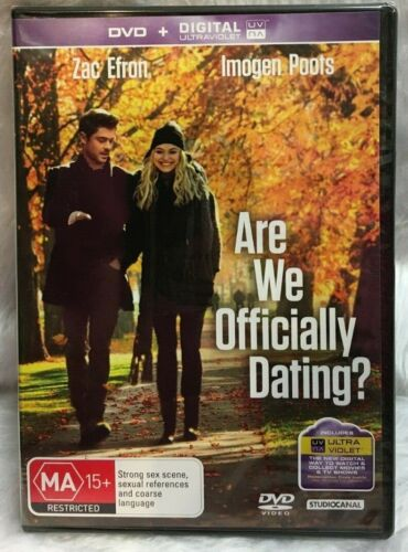 DVD Are We Officially Dating? 2014 Zac Effron Imogen Poots Brand New Sealed