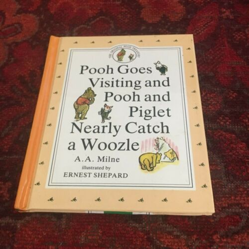 A.A. MILNE. POOH TREASURY. POOH AND PIGLET NEARLY CATCH A WOOZLE. 0525447075