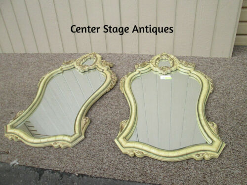 57346 Pair Large Decorator Mirrors