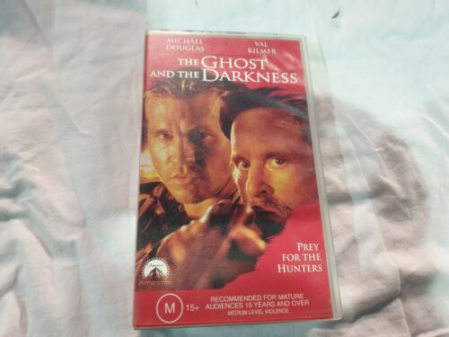 The Ghost and the Darkness - VHS