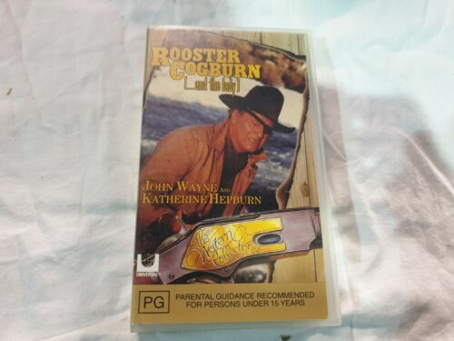 Rooster Cogburn and the Lady - VHS - New Sealed