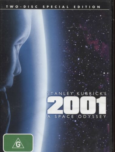 2001 - A Space Odyssey (DVD, 2007, 2-Disc Set)  Keir Dullea, Gary Lockwood