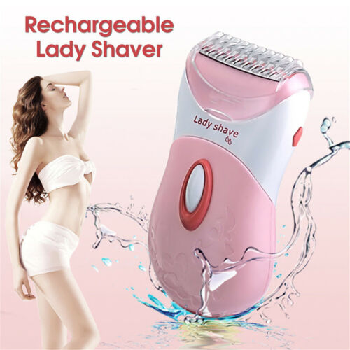 Electric Washable Rechargeable Wet&Dry Lady Shaver Trimmer Body Hair Remover
