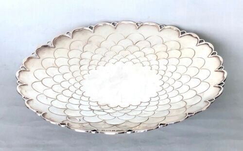 Mappin & Webb Silver Sterling Signed Antique Tray Awesome Piece