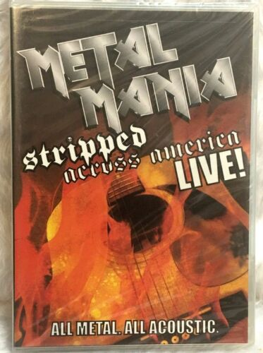 DVD VH1 Metal Mania - Stripped Across America Tour Live (DVD, 2006) NEW Sealed