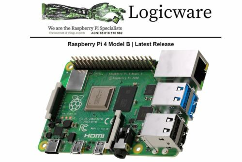 Raspberry Pi 4 Model B with 4GB RAM Made in UK, Local AU Stock | Board Only