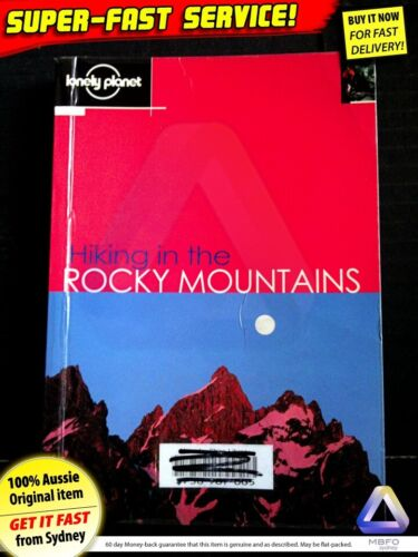 Hiking in the Rocky Mountains, travel guide book USA US America backpacking maps