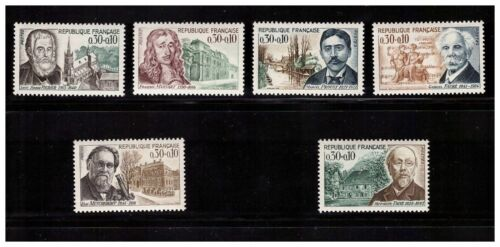 s23356) FRANCE MNH** 1966 Famous persons 6v