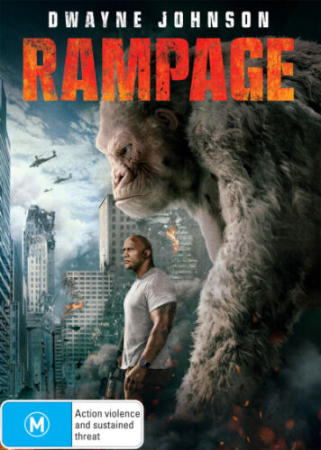 Rampage (2017)  - DVD - NEW Region 4